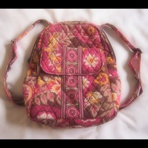 Lightly used Vera Bradley book-bag💜